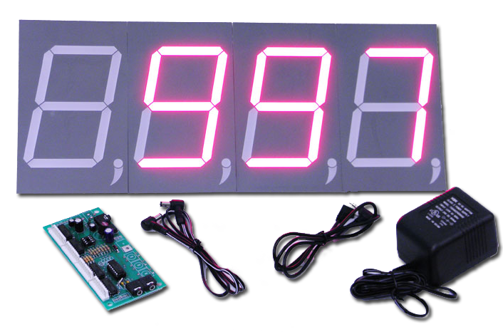 "5"" LED Day Counter Module"