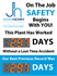 Picture of Accident Free Workplace Sign with Two Large Displays (48Hx36W)