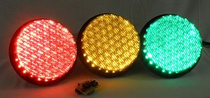 Picture of Stoplight Kit Complete with Controller and Traffic Lights