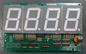 "Picture of Four Digit Counter Module 2.3"" Ver 9 (BOARD ONLY) [LEGACY]"