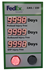 Picture of Custom Stoplight Safety Scoreboard with Three Large Counters (60Hx36W)
