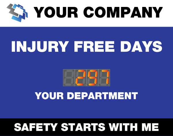 Injury Free Days Safety starts with me