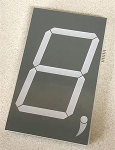 """Picture of 5"""" Digit (WITHOUT MOUNTING HOLES) [LEGACY]"""