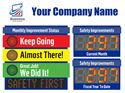Picture of Stop Light Sign, 2 Large Displays, Scrolling Message (36Hx48W)